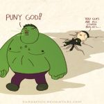Avengers: Puny God by DarkKenjie