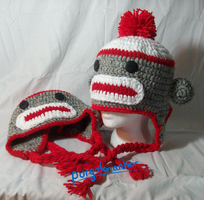 Crochet Hat: Misha Minion Sock Money Hat: For Sale by PurgatorianHeir