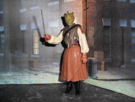 Madam Vastra custom figure by Will1885