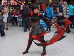 Comic-con pics: Ruby Rose cosplay by dburch01