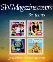 SW Magazine covers - Icons by GracieKane