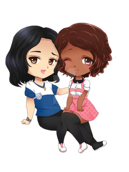 Commission chibi by xTears-and-Rainbows