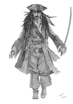 Jack Sparrow by elodie50a