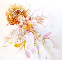 Orchid Fairy by Vassantha