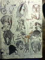 Doodle Page by kiki-454