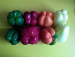 United colours of... Lecso :P by Woolfred