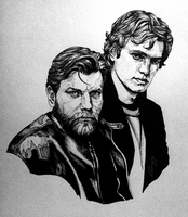 Obi-Wan and Anakin by Aquila--Audax