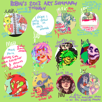 Art Summary 2013 by boblitt