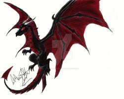 Red Dragon by Tasha-the-Great