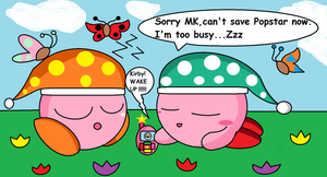 Kirby's too busy by Thefangirl4848