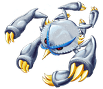 Shiny Mega Metagross for collab by Weirda-s-M-art