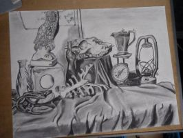 Story in Charcoal by NightWolf7272