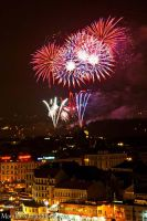 New Year Fireworks II by amrodel