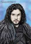Jon Snow by JayofArtistika