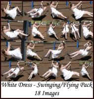 Stock Pack - White Dress Swing by Gracies-Stock