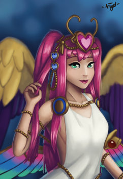 Awoken Venus (Puzzle and Dragons) by Angelwings246