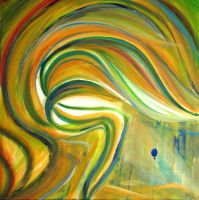 south wind 100x100 cm by IronAries