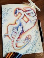 Original Auction: Lugia - Over by Acayth