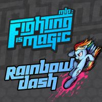 Fighting is Magic Soundtrack Album Art - R. Dash by smokeybacon