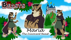 Commission - Beasts Wallpaper 6 - Maria by BennytheBeast