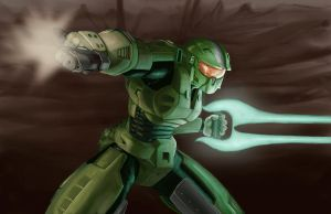Master Chief by airwalkinman