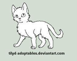 Kitten free lineart by Whiteout-Kennels