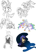 doodle dump by blu-red