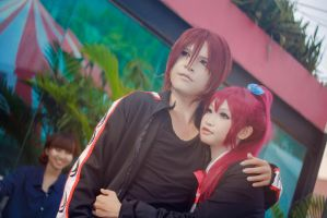 Rin and Gou by MonicaWos