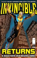 INVINCIBLE returns cover. by fco