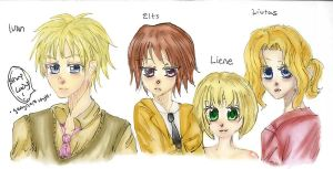 Ivan and the ELL Trio by bookworm555