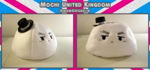 +Mochi United Kingdom+ Plush Pillow by TheonenamedA