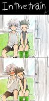 In the train by Kiekyun
