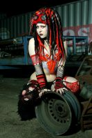Hex in Junkyard by rabidgirlscout