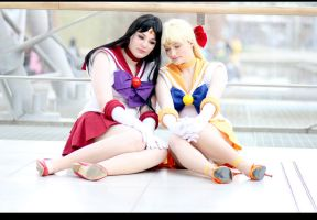 Sailor Moon - Between Us by aco-rea