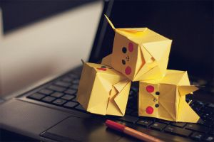 Pika Cubes by Tigerle