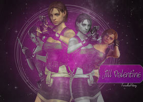 Jill Valentine Outfit RE3 Ver.2 by JillValentinexBSAA