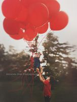 Red Balloons by Amanda-Diaz