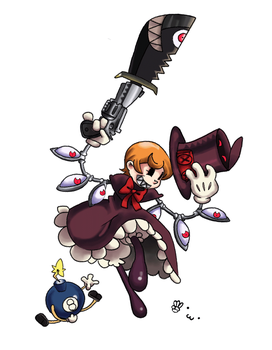 SkullGirls Peacock by Hanyo2k