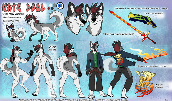 Nate Dual Refsheet by computerfreak