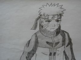 Naruto serious by Hinyness