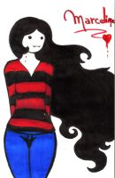 Adventure Time: Marceline by BigGirlsArt
