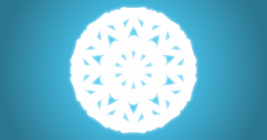 Shining Snowflake 5 by jsonic50000