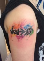 Street Fighter Tattoo by delicioustrifle