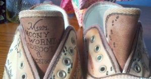 Harry Potter Shoes by Scohen2012