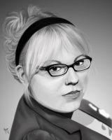 Kirsten Vangsness by LadyShanana