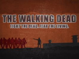 Walking Dead Wallpaper V2 by A-B-Original