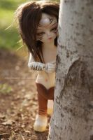 Shy Forest Guardian by MySweetQueen-Dolls