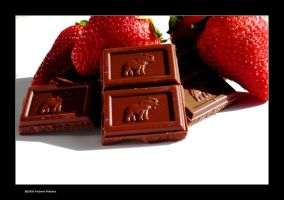 Chocolate and Strawberries by hoserguy