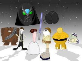 Homestar Wars by naboolars