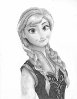 Anna (Frozen) (Finished) by KalKrex